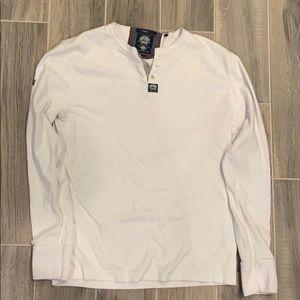 Men's  Superdry long sleeve 3 button